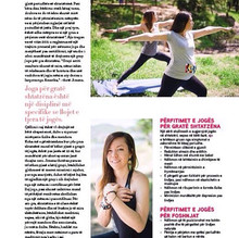 Interview with Living Magazine Albania