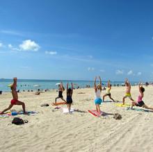 Bachelorette Yoga Class
