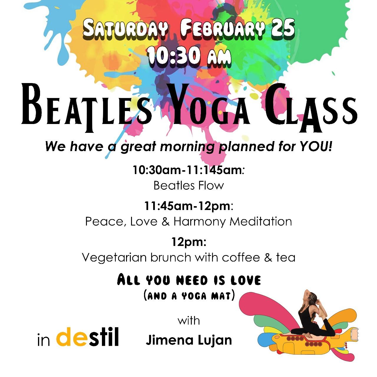 Beatles Yoga Class