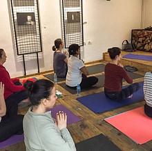 Beatle's Yoga Class