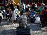 В Белоруссию прибывает всё больше беженцев с Украины
