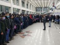 Очередная группа трудовых мигрантов из Узбекистана отправилась на работу в РФ