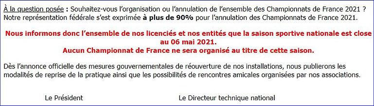 Couurier FFT annulation.JPG