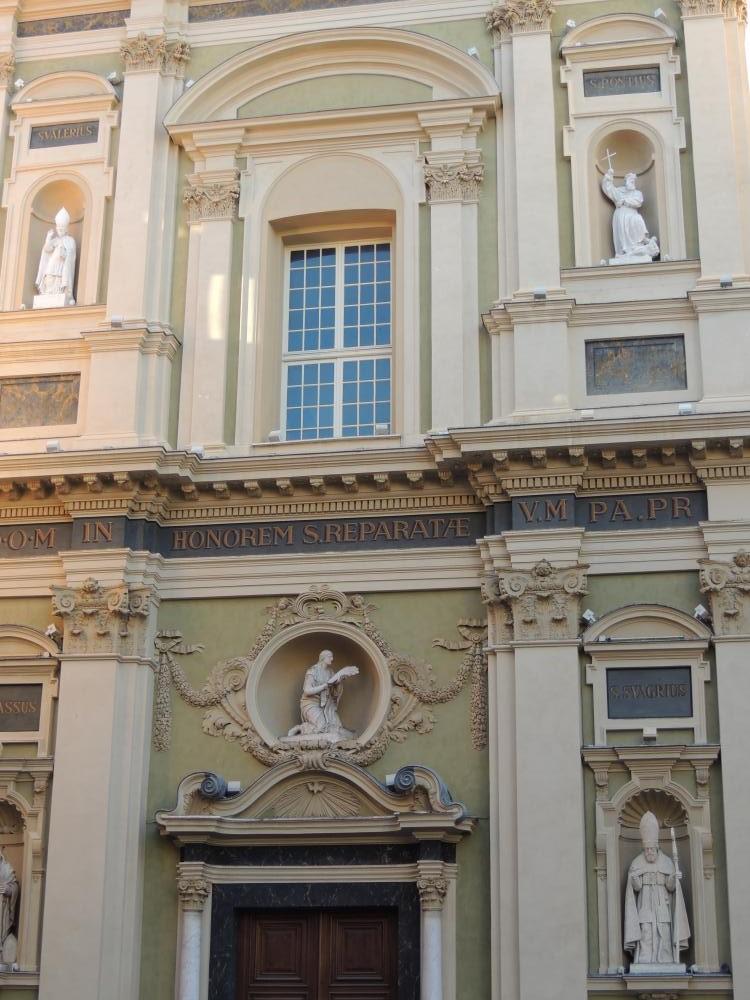 Cathédrale Ste Réparate (détail1)