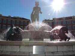Fontaine du Soleil (Place Masséna)