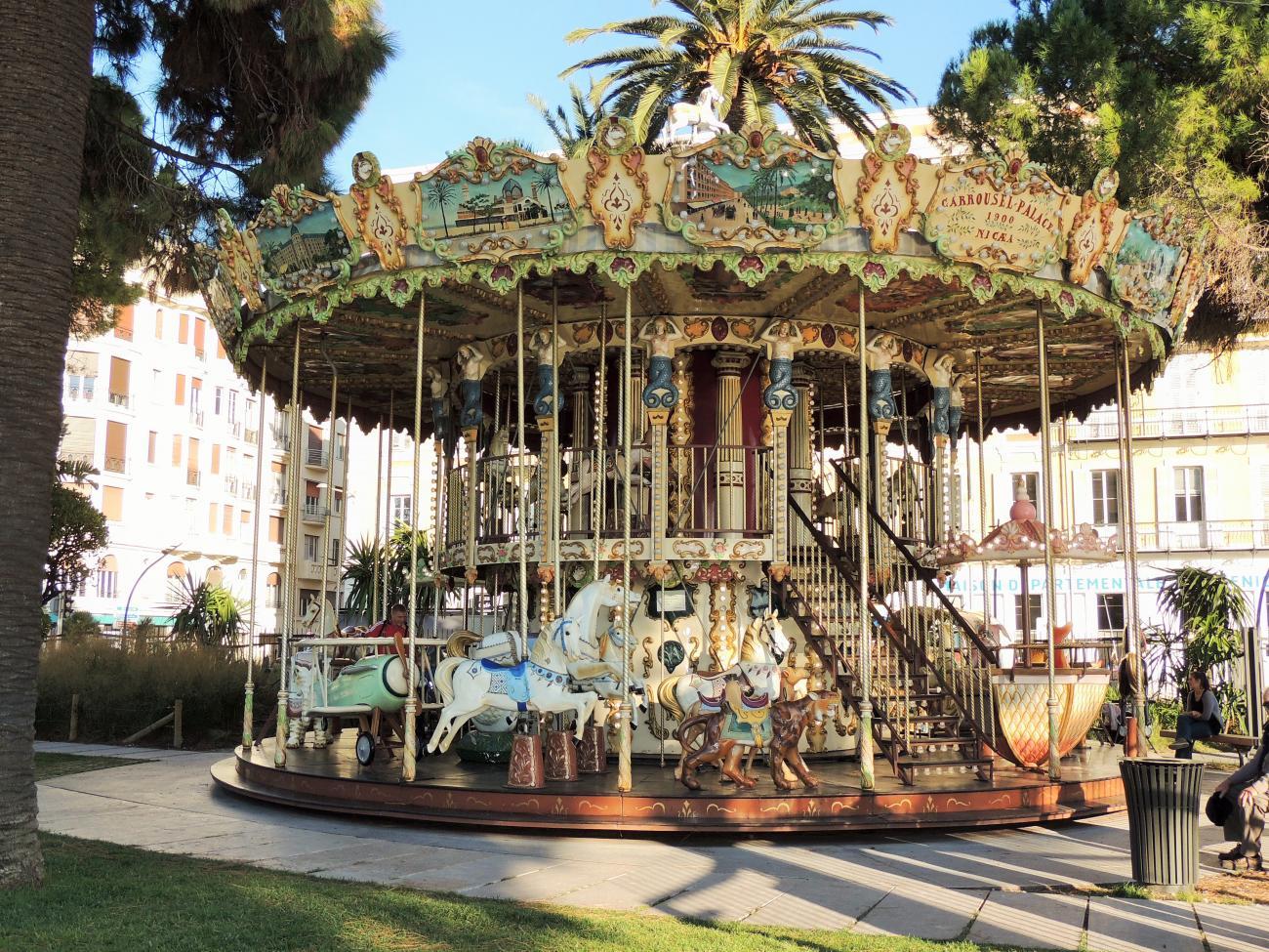 Manège Jardin Promenade des Anglais