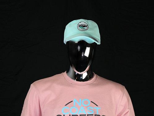 Aqua Low Profile Classic Adjustable Cap