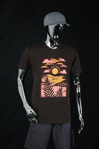 Chocolate Surf Art Crew Neck T-Shirt