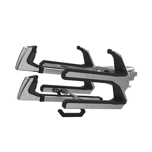 Skylon Bright Dip Horizontal Locking Board Racks (Pair) Malibu Adapters