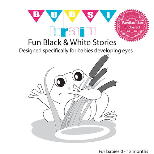 Black & White Stories for Babies