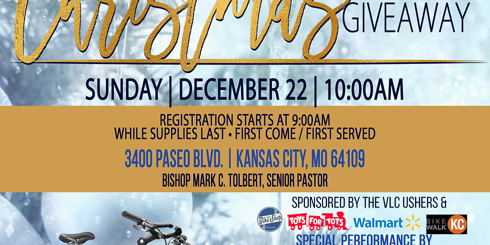 Christmas Service Toy & Bike Giveaway