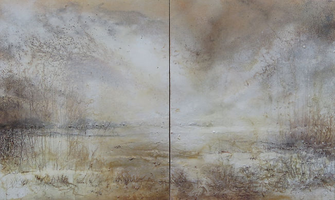 Renate Faeth Sand Serie Horizonte 85x140