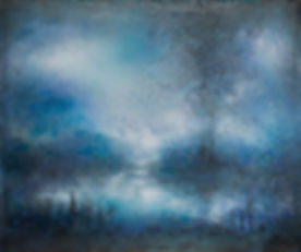 Renate_Fäth_Orientblau_Serie_Moor_100x12