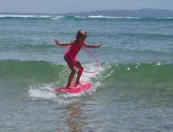 Facebook - Surfdancing training with Hula Hoop