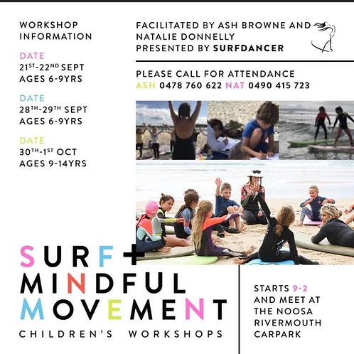 Surf & Mindful Movement with Board and Wetsuit