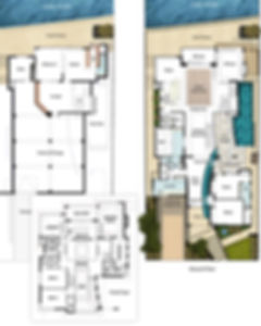 Three Storey House Floor Plans - The Panorama by Boyd Design Perth