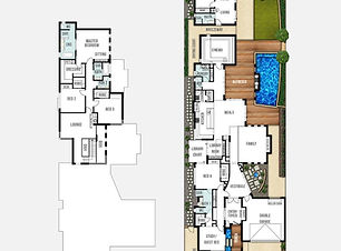 Two Storey Home Design The Orient