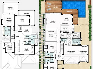 Two Storey Home Design The Windsor