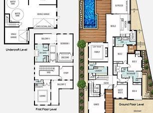 Undercroft Garage Home Design The Sorrento