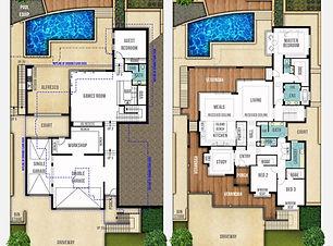 Two Storey Home Design The Hampton