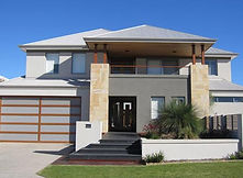 Home Exterior by Building Designers Boyd Design Perth