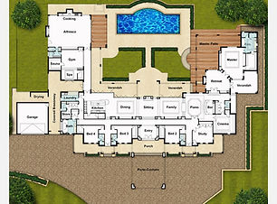 Single Storey Home Design The Chateau