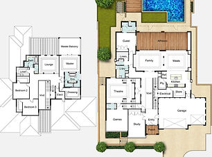 Two Storey House Plans The Woodland