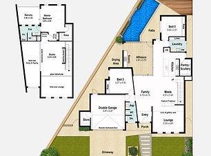 Two Storey Home Design The Trend
