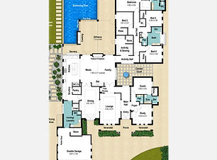 Single Storey House Plan The Stanford