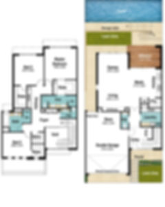 Two Storey House Floor Plans - The Promenade by Boyd Design Perth