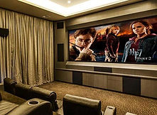 Home Theatre by Building Designers Boyd Design Perth