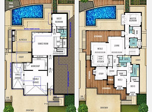 Split Level Home Design The Hampton