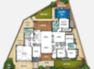 Split Level House Plan The Carine