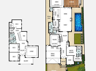 Two Storey Home Design The Breakwater