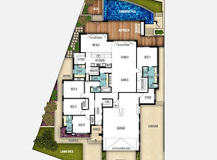 Single Storey House Plan The Riverbank
