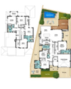 Two Storey House Floor Plans - The Claremont by Boyd Design Perth