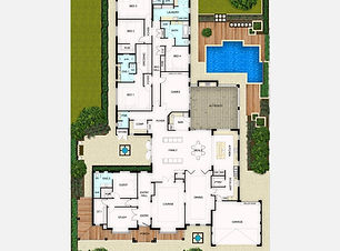 Single Storey House Plan The Majestic
