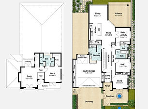 Two Storey Home Design The Lodge