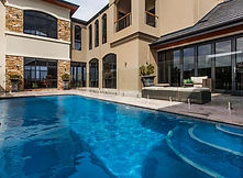 Pool Court by Residential Designers Boyd Design Perth