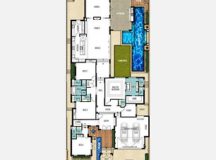 Split Level House Plan The Catherine