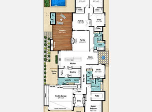 Single Storey Home Design The Floreat