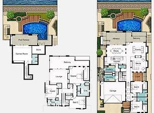 Undercroft Garage Home Design The Reef