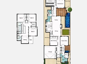 Two Storey House Plans The Retreat
