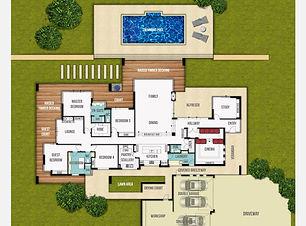 Single Storey Home Design The Grange