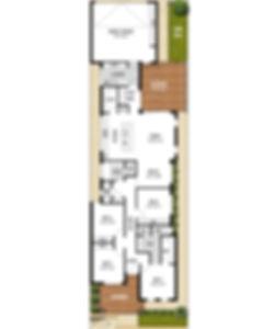 Single Storey House Floor Plan - The Casablanca by Boyd Design Perth