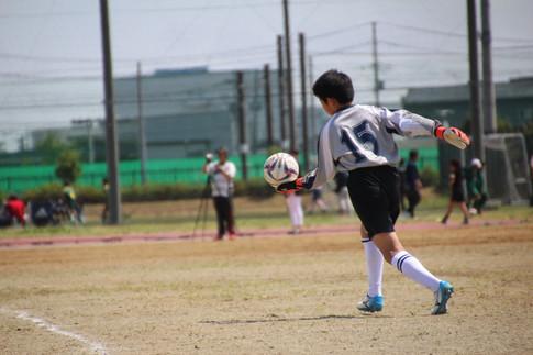 東北学院少年サッカー大会 1-4