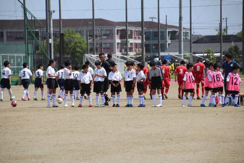 東北学院少年サッカー大会 1-2