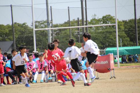 東北学院少年サッカー大会 1-3