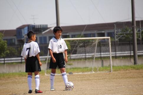 東北学院少年サッカー大会 1-6
