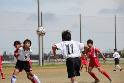 東北学院少年サッカー大会 1-1
